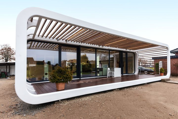 Portable Prefab Homes by Coodo