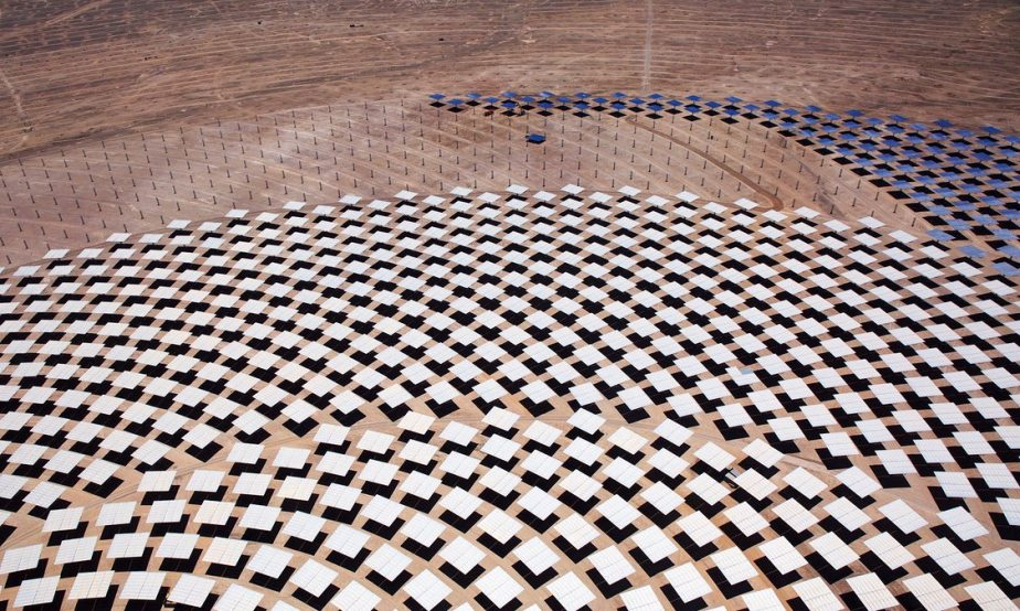 1 Solar Power Plant. 775,000 Panels in the Chilean Desert.