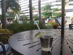 2 Margarita by the pool