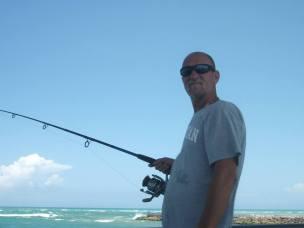 Lucky fishin