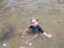 Miles swimming 2