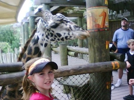 Shay & giraffe